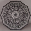Складной женский зонт с каркасом 10 спиц (увеличенный купол 104 см) ZEST 239666-100