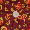 Женский зонт ZEST 23969-654 Русские узоры