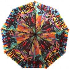 Зонтик женский с длинным стержнем ZEST 239996-03 Вечерний город