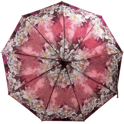 Зонт женский длинным стержнем ZEST 239996-434 Цветы маслом