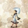 Женский зонт Zest 24756-2702 Дама с собачкой