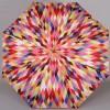 Женский компактный зонт Zest 24757 Калейдоскоп