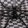 Компактный (25см) зонт полный автомат Zest 24757-221 Шахматка