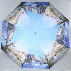 Женский зонт с большим куполом Zest 24985 Город после дождя
