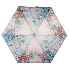 Зонт женский компактный ZEST 25515-2652 Осень в старом городе