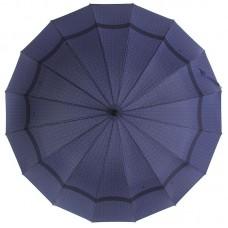 Зонт трость ZEST Президентский 41562 Орнамент на синем