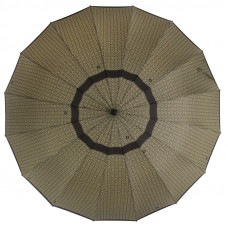 Зонт мужской трость ZEST Президентский 41562 Орнамент на черном