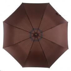 Стильный мужской зонт трость ZEST 41652 коричневый