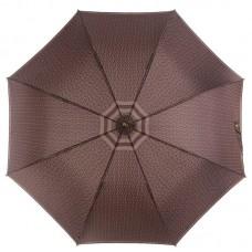 Мужской зонт трость с большим куполом ZEST 41652 коричневый