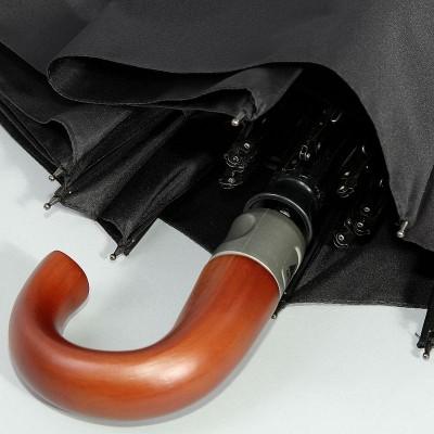 Зонт полуавтомат Zest мужской 43640 Черный