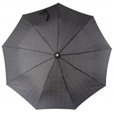 Зонт мужской Zest 43942 Черный мелкая клетка