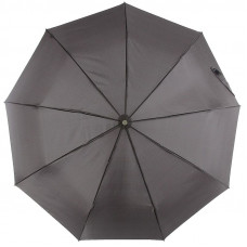 Зонт в мелкую клетку Zest 43943 с деревянной ручкой крюком