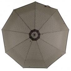 Зонт Zest мужской 43962 Бежевый орнамент на черном