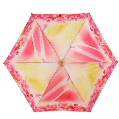 Тоненький зонтик Zest от дождя 537622 Цветочки по канту