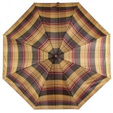 Зонт Zest женский 53842-024 Light Brown Сheck Pattern