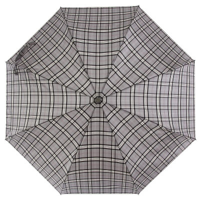 Зонт женский ZEST 53842 Gray Сheck Pattern