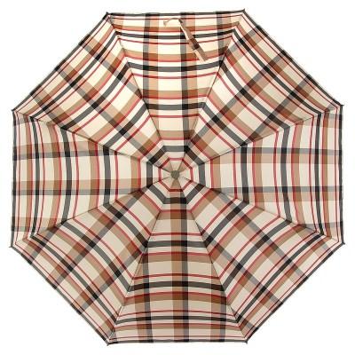 Зонт Zest женский 53842-778 Beige Сheck Pattern