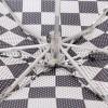 Легкий (190 гр) женский зонтик ZEST 55518-02 Шахматка