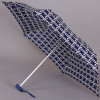 Женский зонт плоский (17см, механика) ZEST 55518-05 Переплетение колец