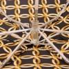 Зонт женский в пять сложений ZEST 55518-262 Переплетение колец