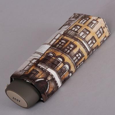 Небольшой (19 см, купол 98 см) женский зонт Zest 55526