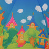 Детский зонтик трость ZEST 81561-251